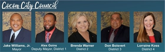 Cocoa City Council Members