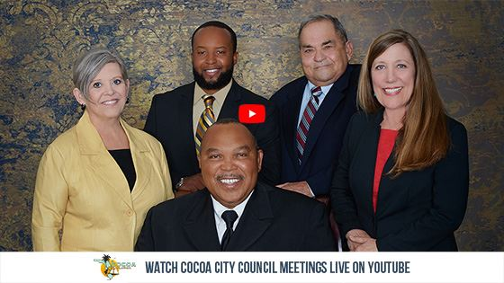 Watch Cococa City Council Meetings Live on YouTube